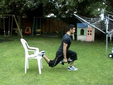 Dumbbell Bulgarian Split Squat