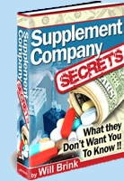 Supplement Company Secrets
