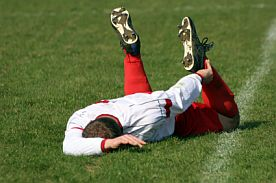 Sports injury in football
