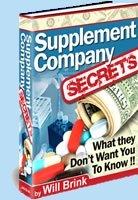 Supplement Company Secrets