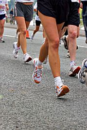 Fitness equipment apparel showing footwear